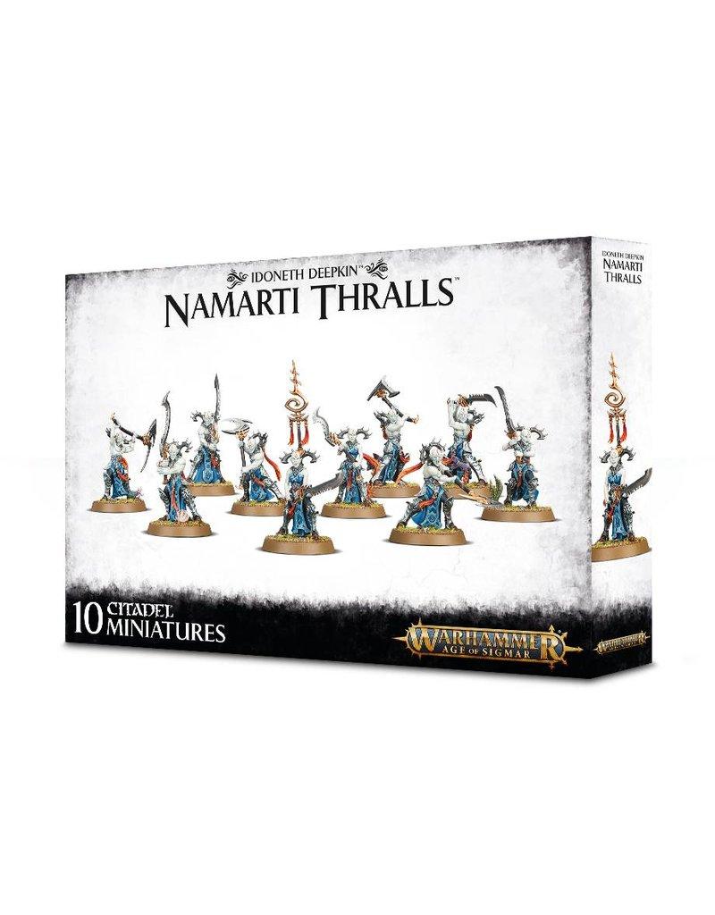 Games Workshop Idoneth Deepkin: Namarti Thralls Box Set