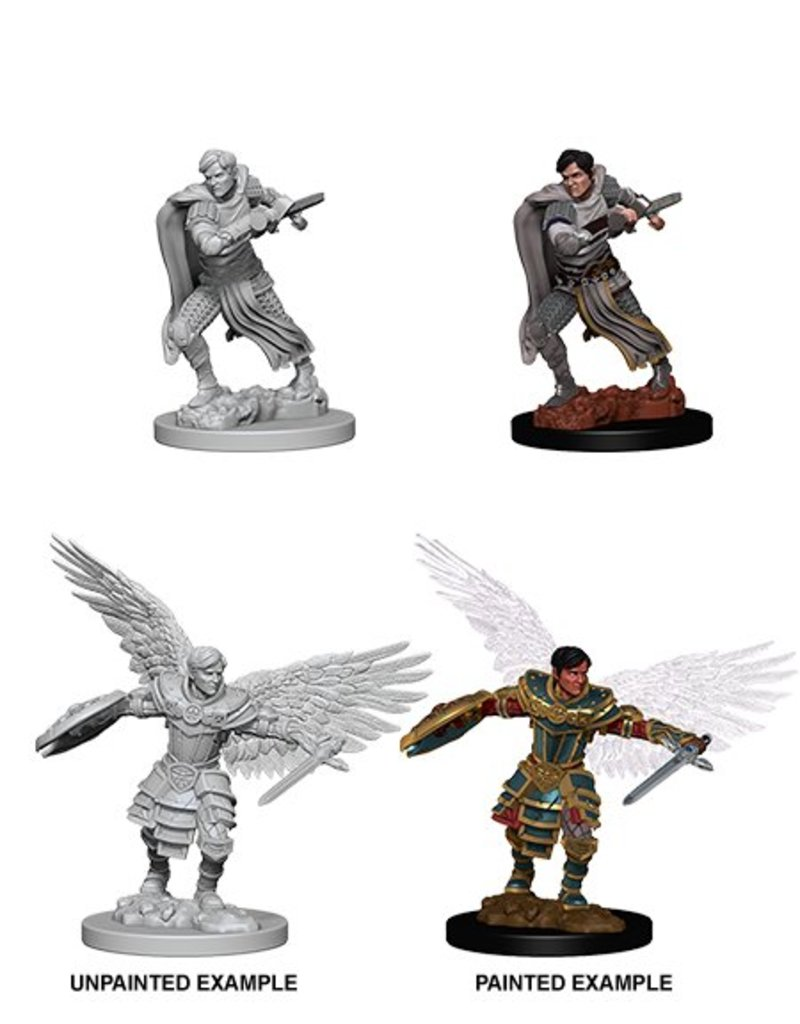 Wizkids Nolzur's Marvelous Miniatures: Male Aasimar Fighter (Wave 6)