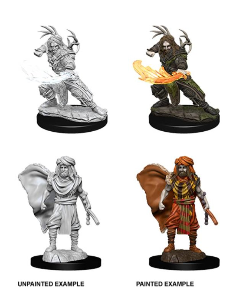Wizkids Nolzur's Marvelous Miniatures: Male Human Druid (Wave 6)