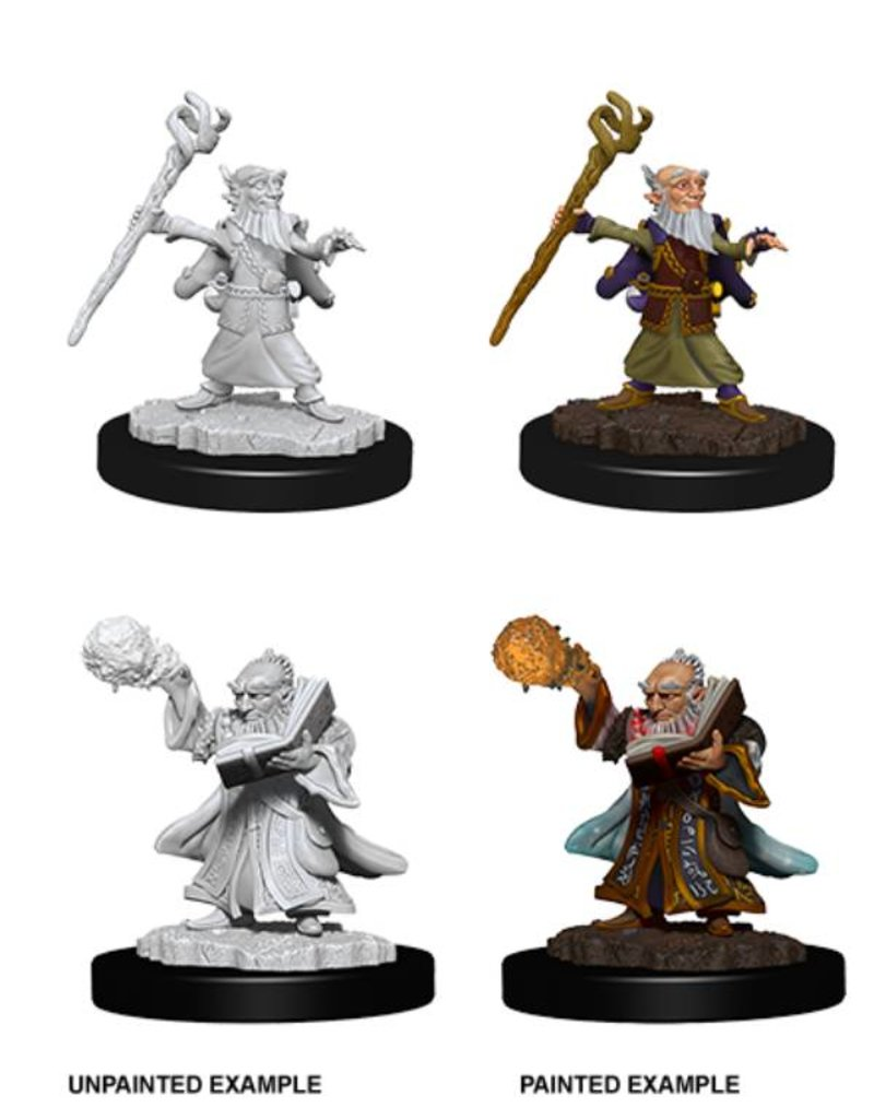 Wizkids Nolzur's Marvelous Miniatures: Male Gnome Wizard (Wave 6)