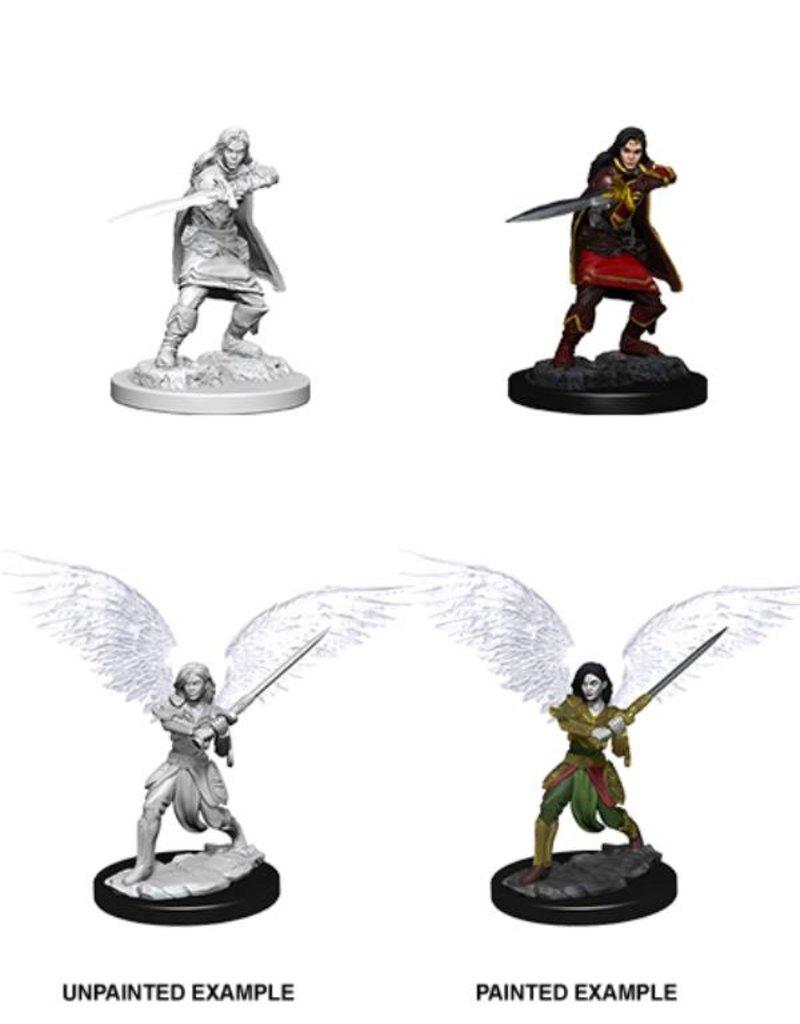 Wizkids Nolzur's Marvelous Miniatures: Female Aasimar Fighter (Wave 6)