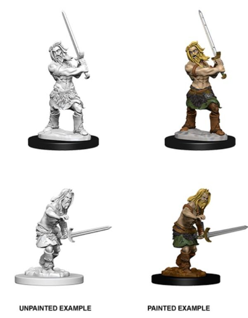 Wizkids Pathfinder Battles Deep Cuts: Male Human Barbarian (Wave 6)