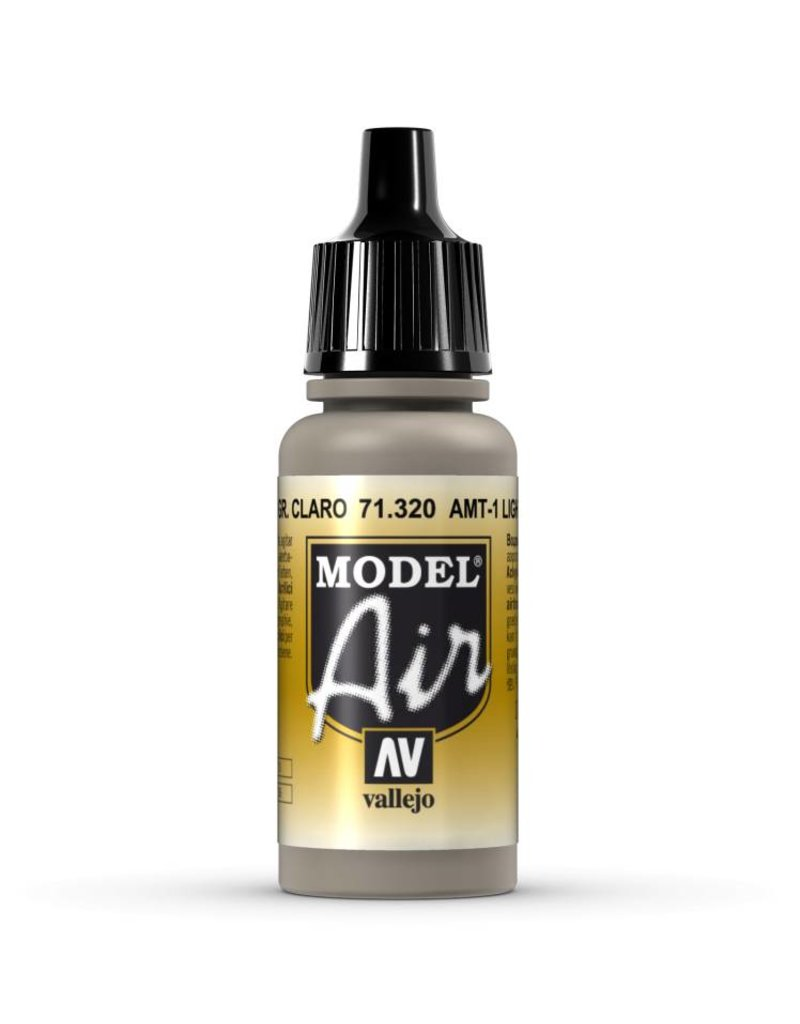 Vallejo Model Air - AMT-1 Light Grey Brown 17ml