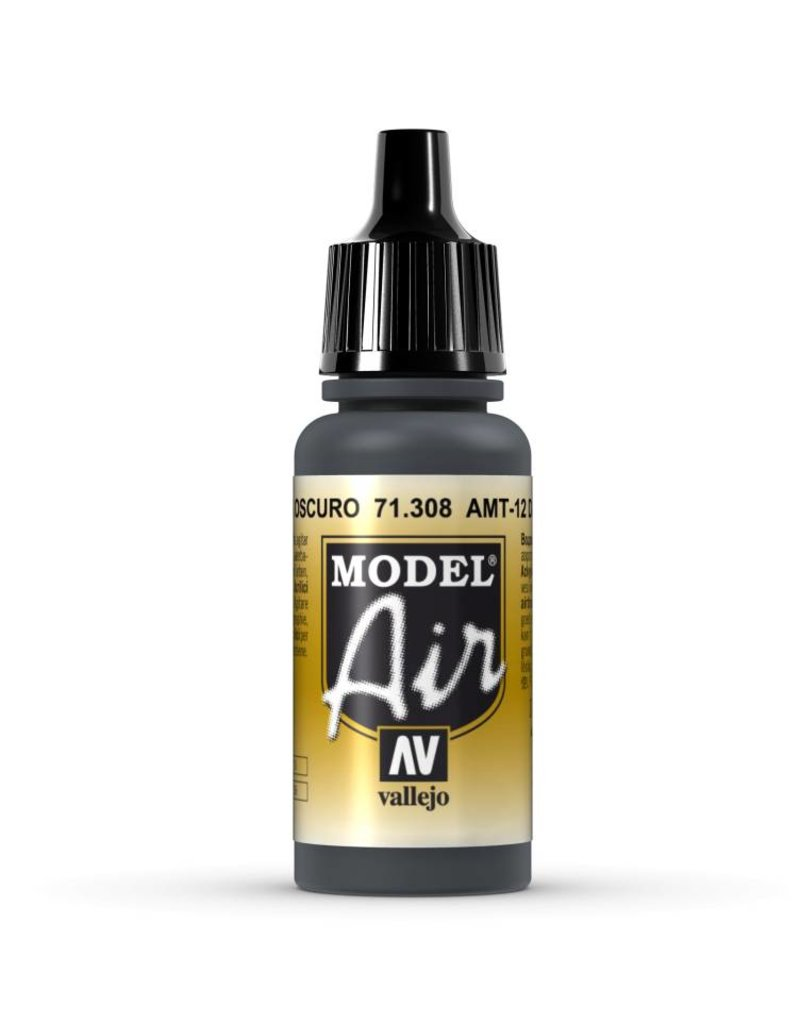 Vallejo Model Air - AMT-12 Dark Grey 17ml