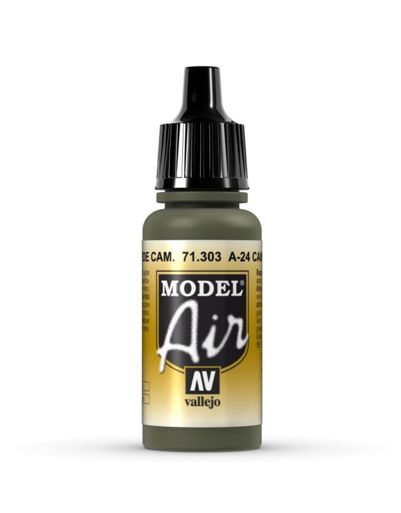 Vallejo Model Air - A-24M Camouflage Green 17ml