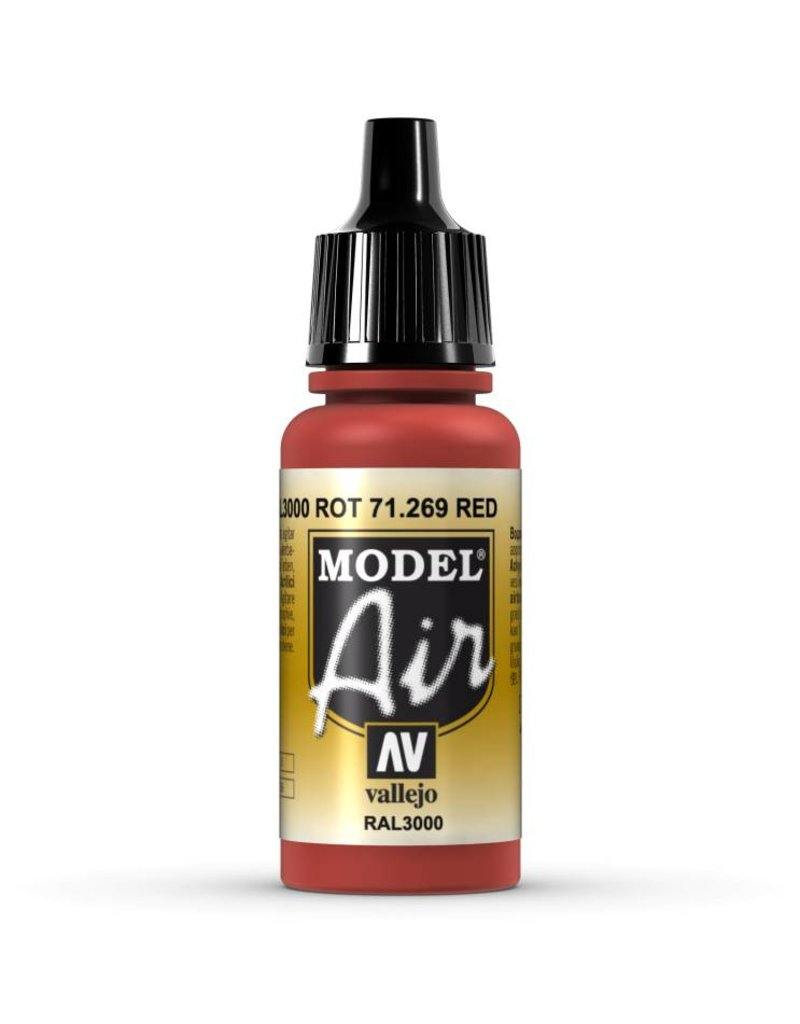 Vallejo Model Air – Red 17ml