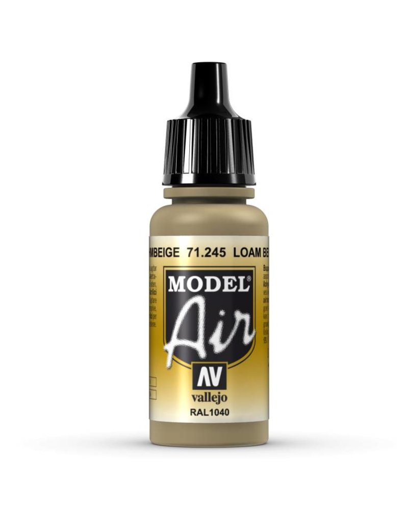Vallejo Model Air - Loam Beige 17ml