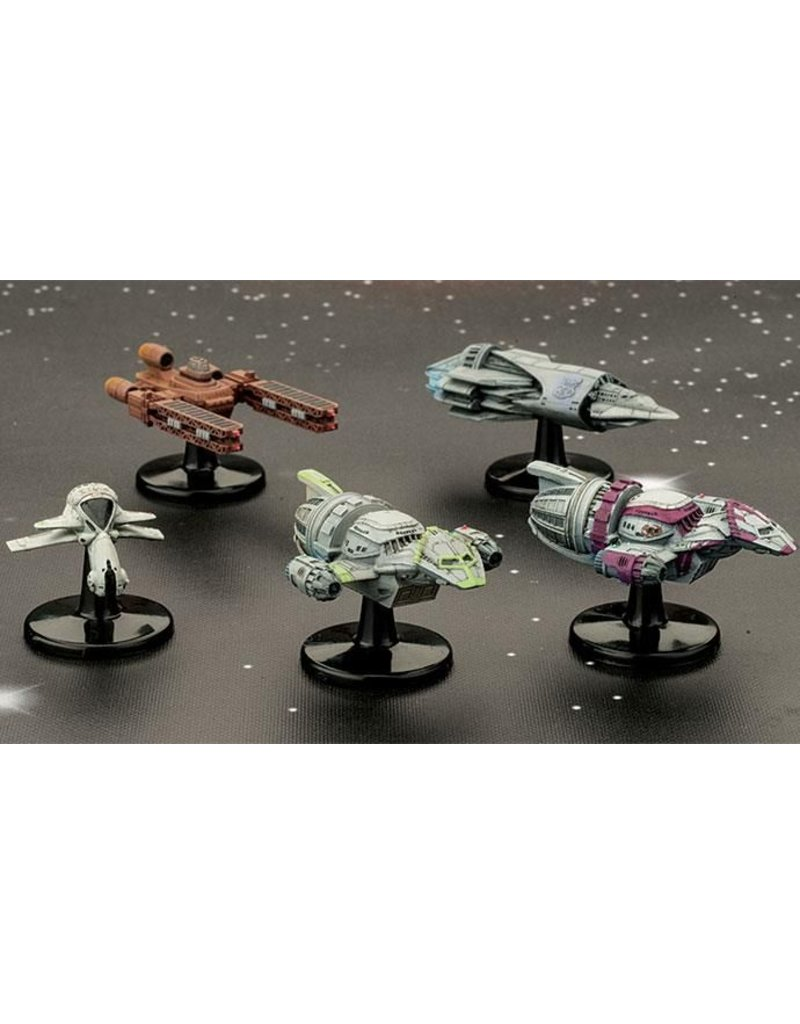 Gale Force 9 Firefly: Customizable Ship Models II