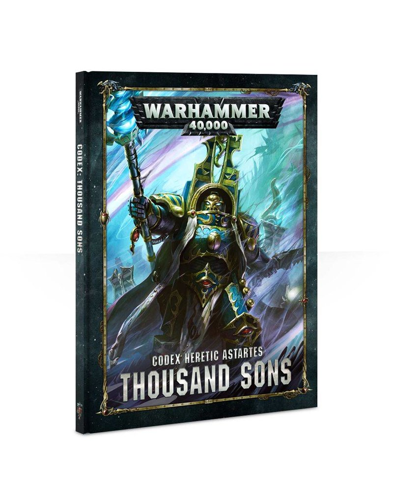 Games Workshop Codex: Thousand Sons (8th Edition) (HB)