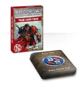 Games Workshop Chaos Chosen Team Card Pack
