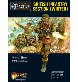 Warlord Games BritishInfantry section (Winter)