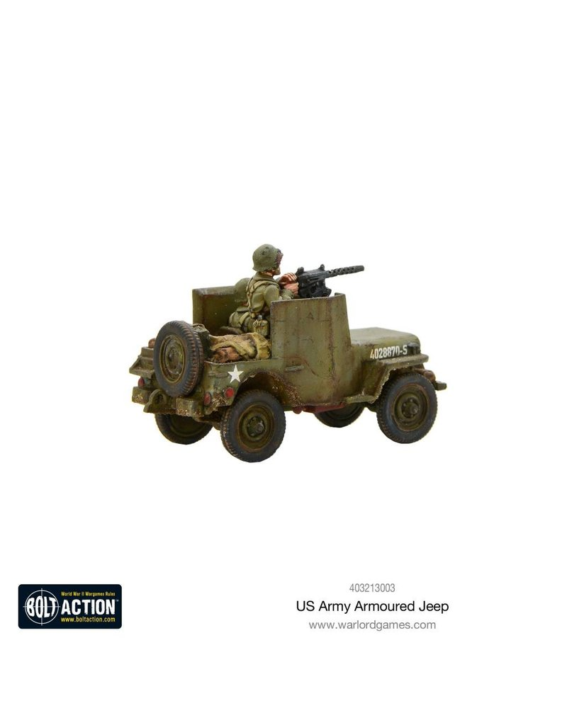 Warlord Games US Armoured Jeep Box Set