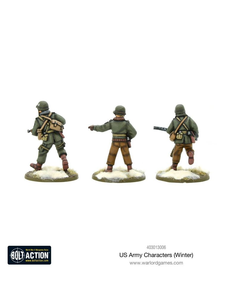 Warlord Games US Army Characters (Winter)
