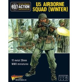 Warlord Games US Airborne Squad (Winter)
