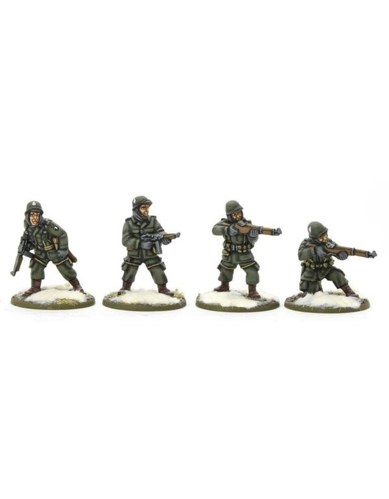 Warlord Games US Airborne Squad (Winter) Box Set
