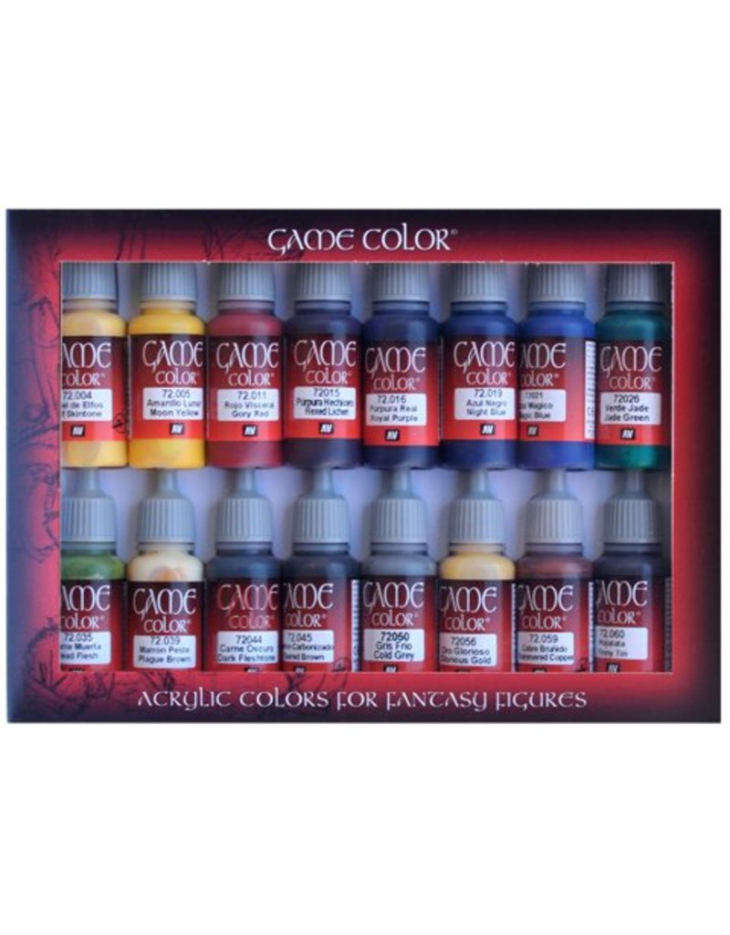 Vallejo Game Color Set - Advanced Set