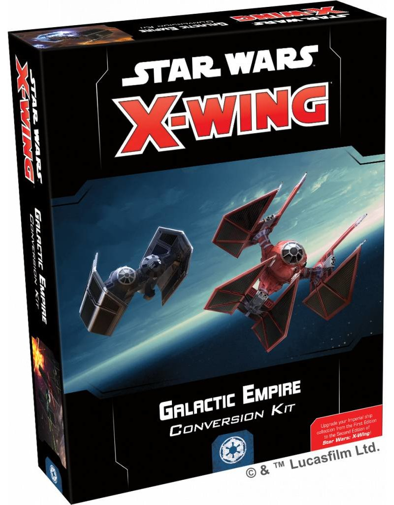 Fantasy Flight Games Star Wars X-Wing: Galactic Empire Conversion Kit