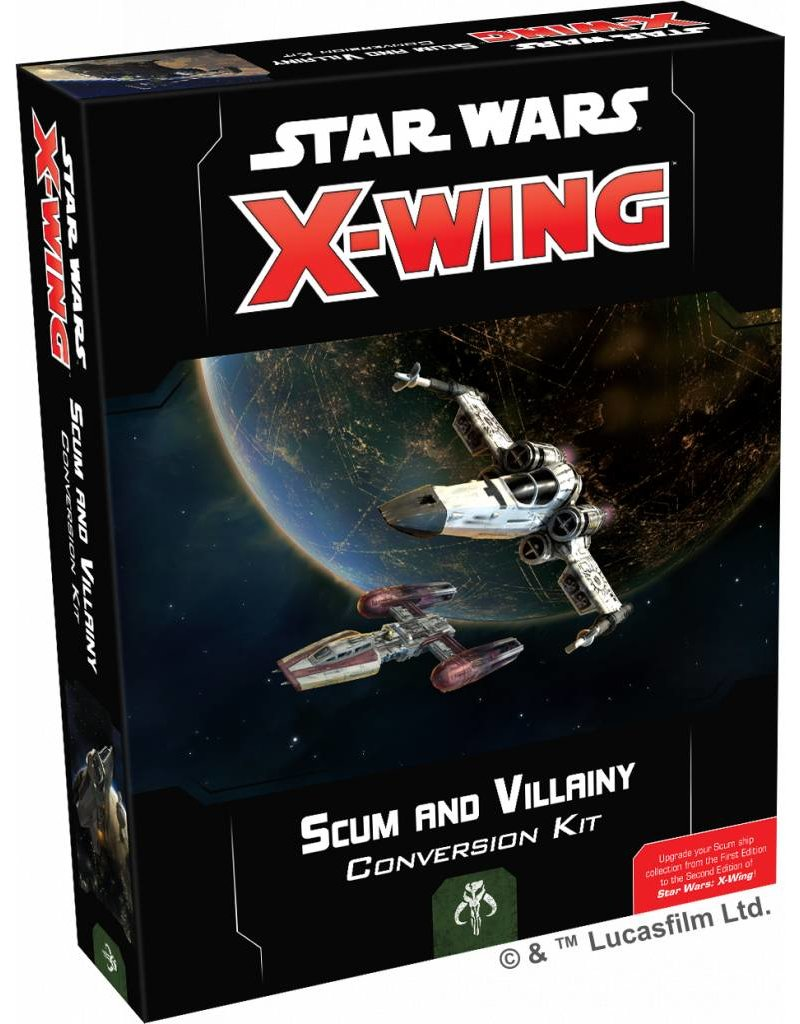 Fantasy Flight Games Star Wars X-Wing: Scum and Villainy Conversion Kit