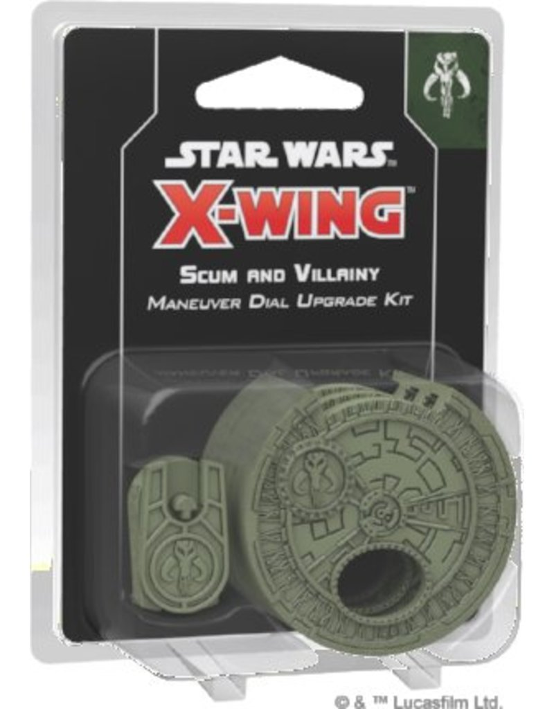 Fantasy Flight Games Star Wars X-Wing: Scum and Villainy Maneuver Dial Upgrade Kit