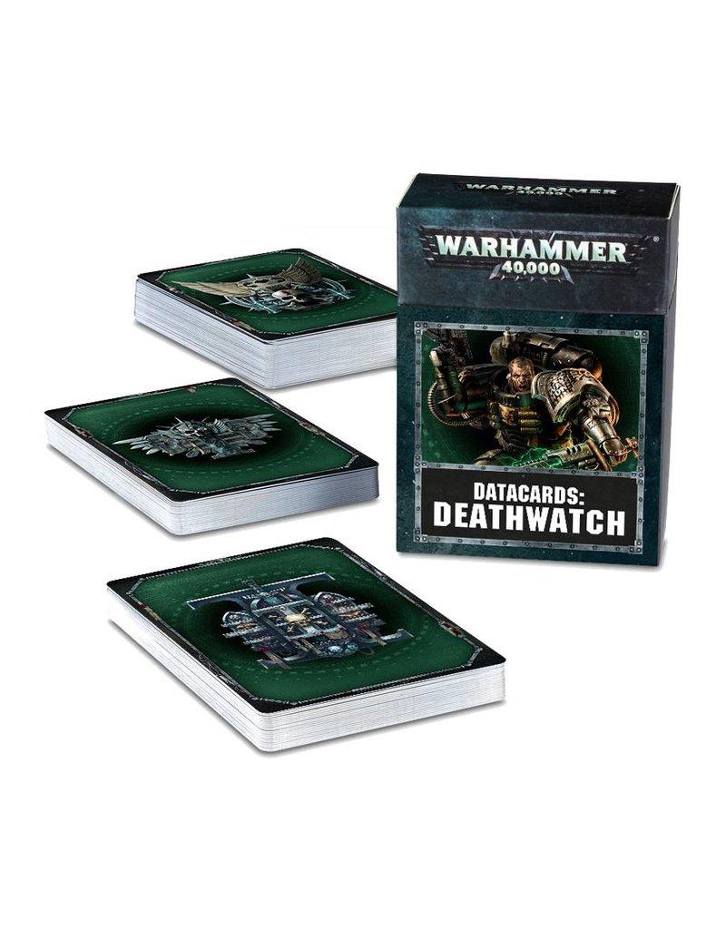 Games Workshop Datacards: Deathwatch (8th Edition) (EN)