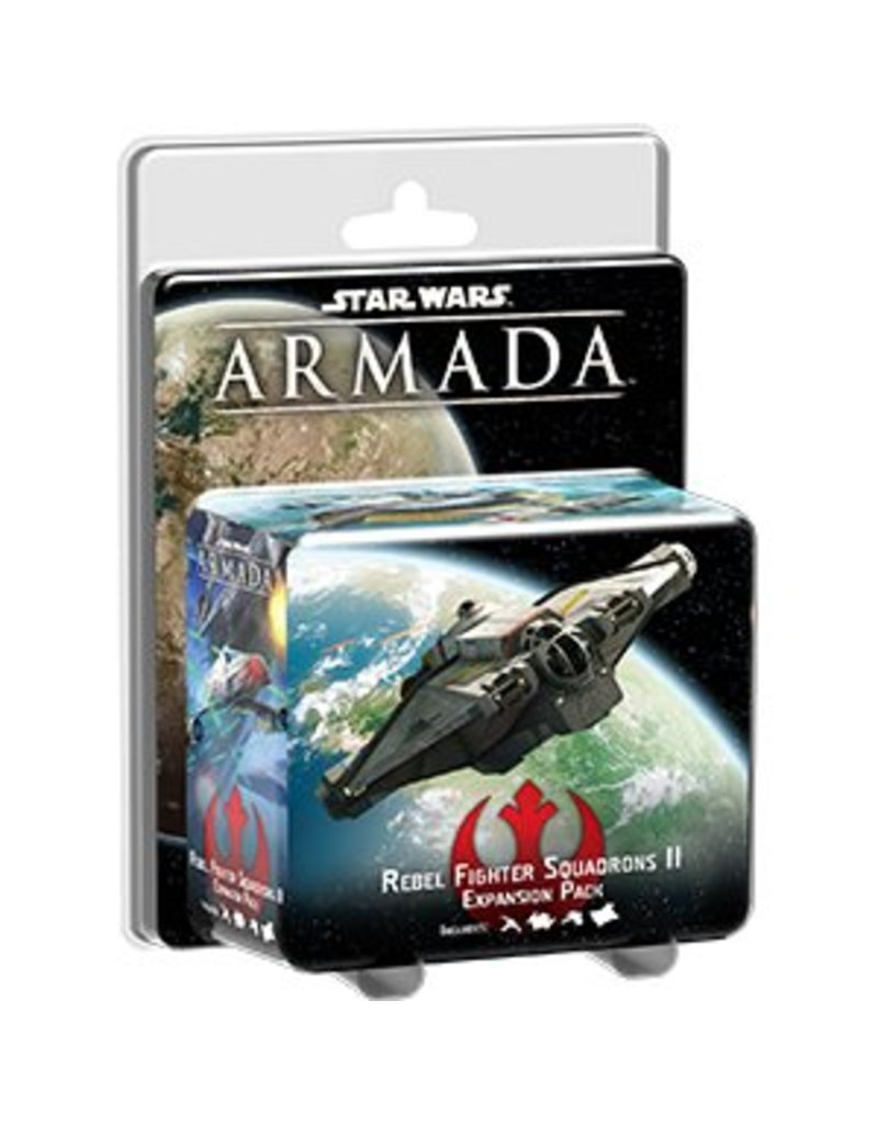Fantasy Flight Games Star Wars Armada: Rebel Fighter Squadrons II Expansion Pack