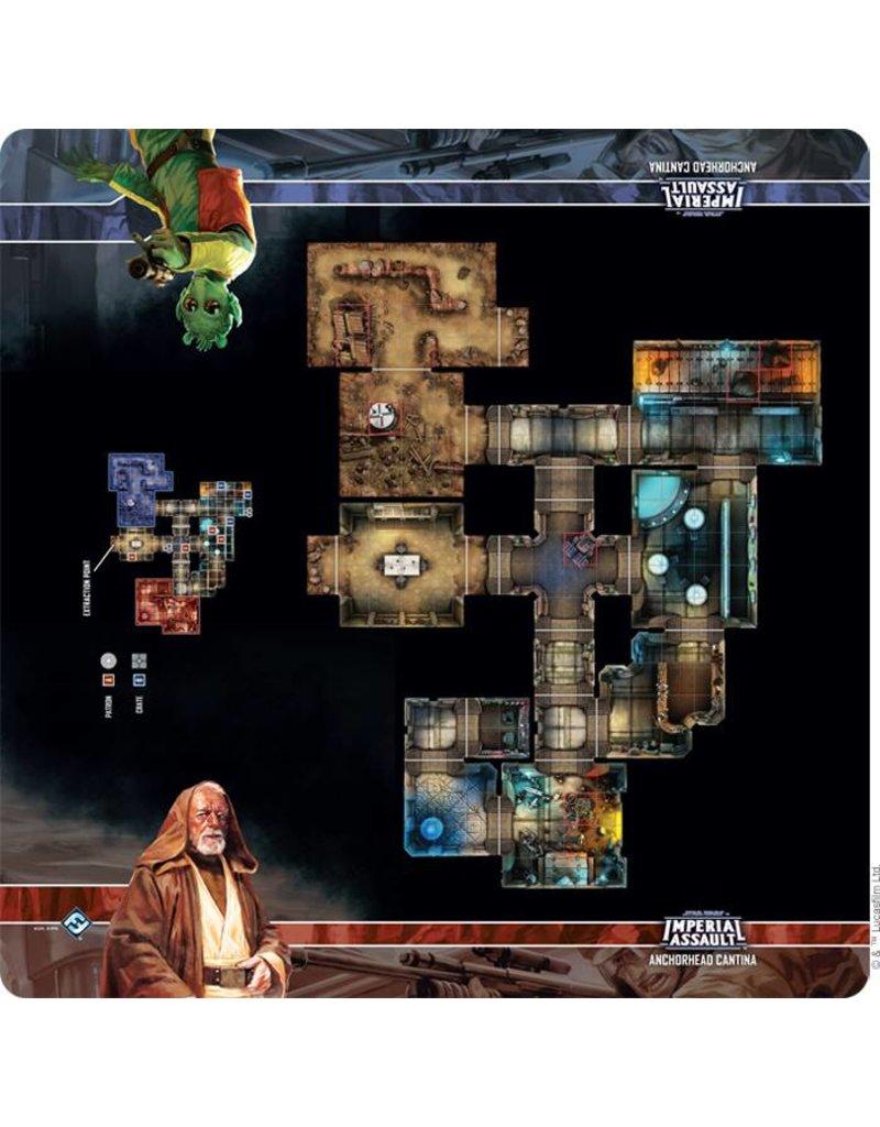 Fantasy Flight Games Star Wars Imperial Assault: Anchorhead Cantina Skirmish Map