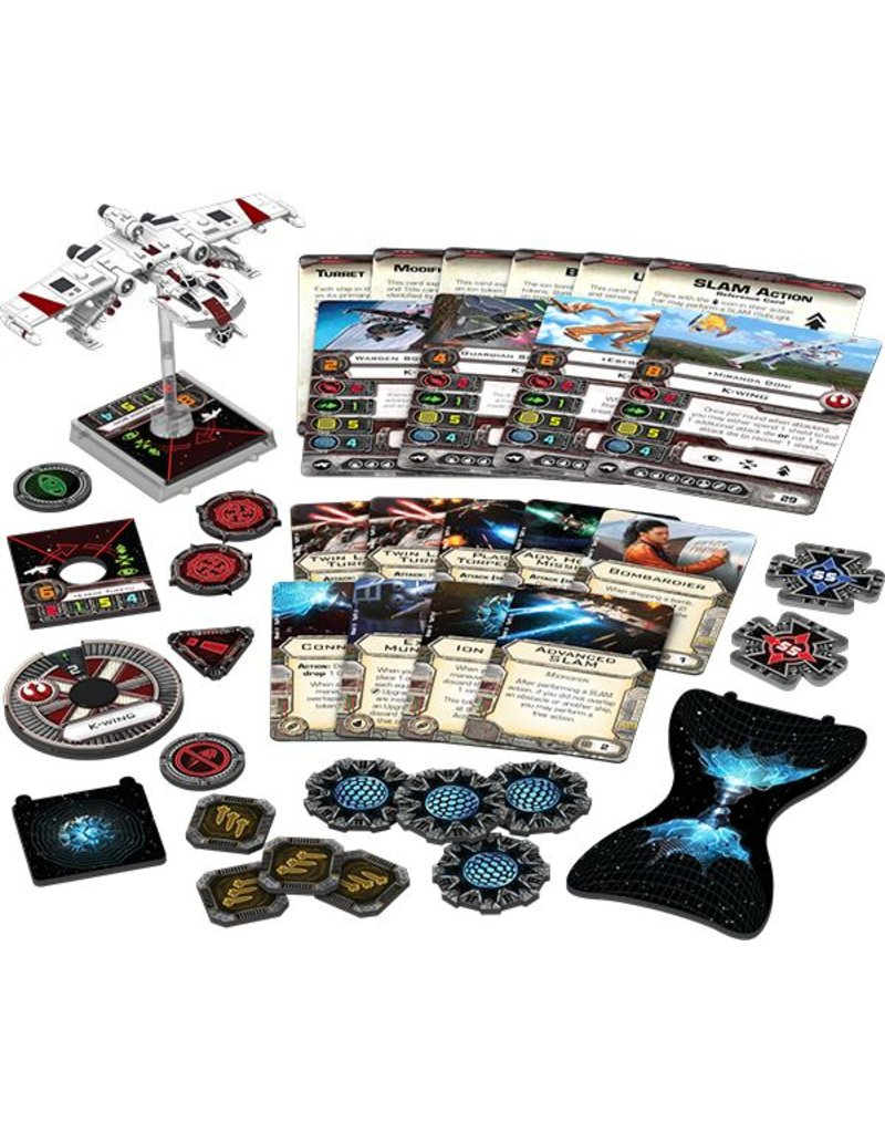 Fantasy Flight Games Star Wars X-Wing: K-Wing Expansion Pack