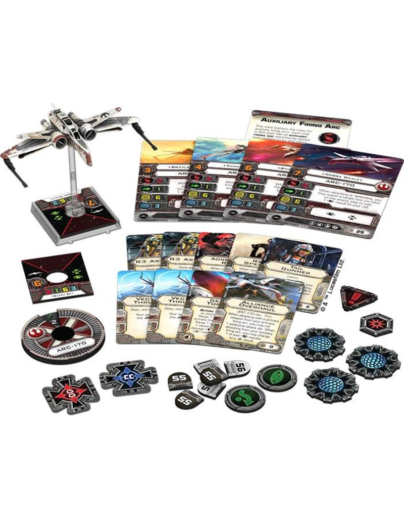Fantasy Flight Games Star Wars X-Wing: Arc-170 Expansion Pack