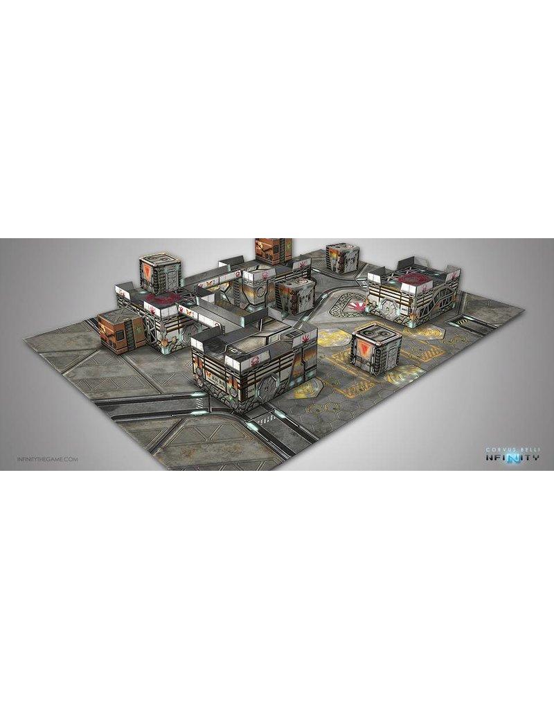 Corvus Belli Kurage Station Scenery Pack