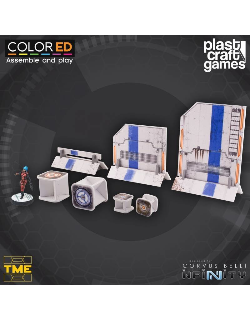 Plastcraft Designed For Infinity: TME Prop Set