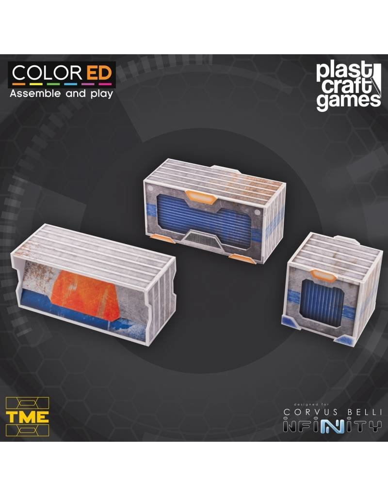 Plastcraft Designed For Infinity: TME Container Set