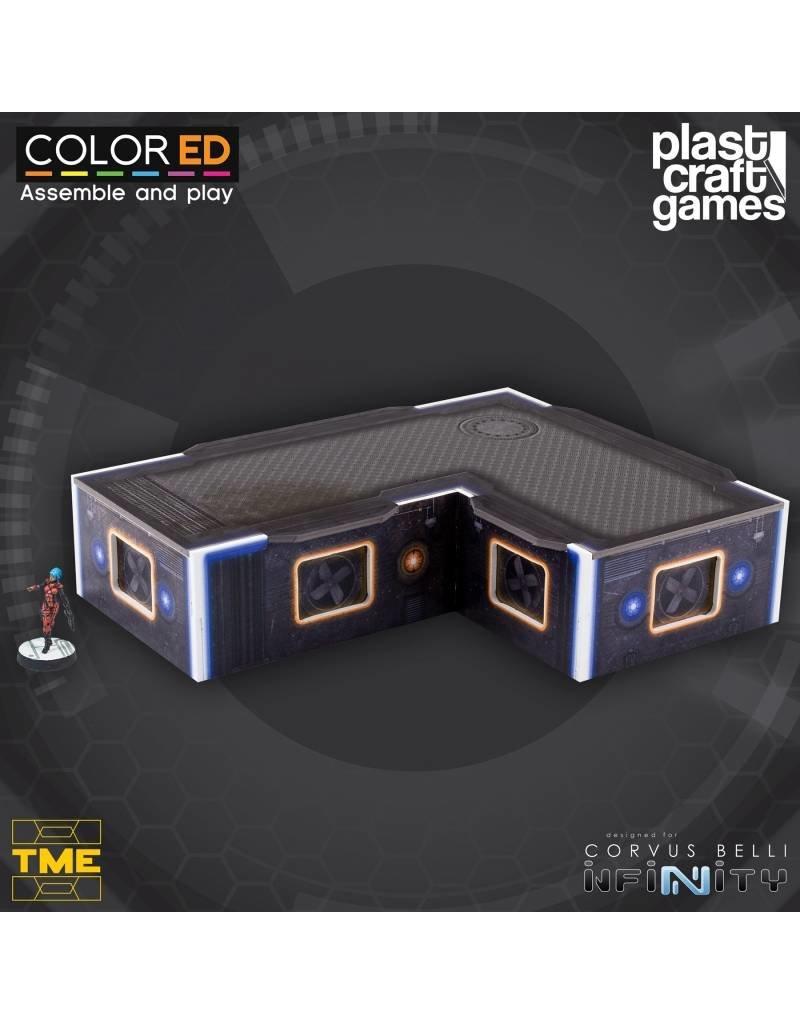 Plastcraft Designed For Infinity: L-Shaped Platform