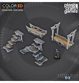 Plastcraft Designed For Infinity: Bridge and Stairway Set