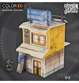 Plastcraft Yellow Building