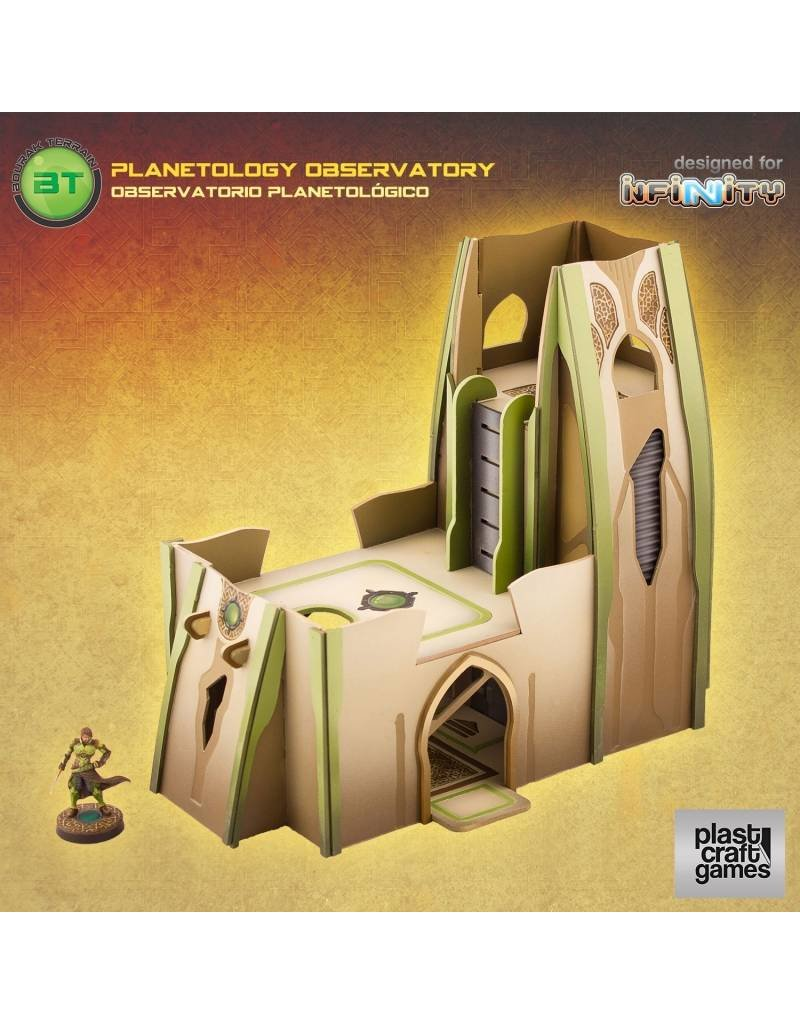 Plastcraft Designed For Infinity: Planetology Observatory