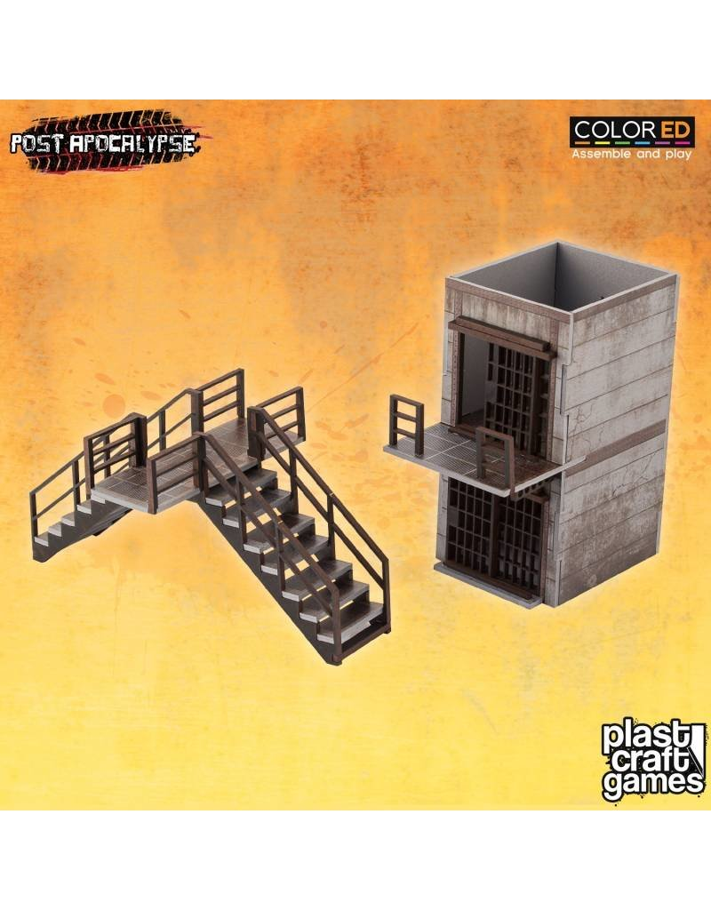 Plastcraft Inmate Cells & Stairs - New Haven Prison