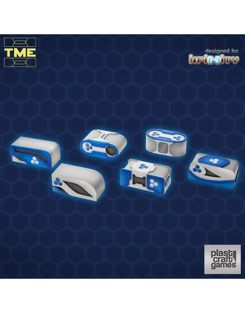 Plastcraft Designed For Infinity TME- 6 Containers Set