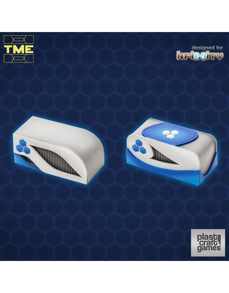 Plastcraft Designed For Infinity TME- 2 Containers Set 01