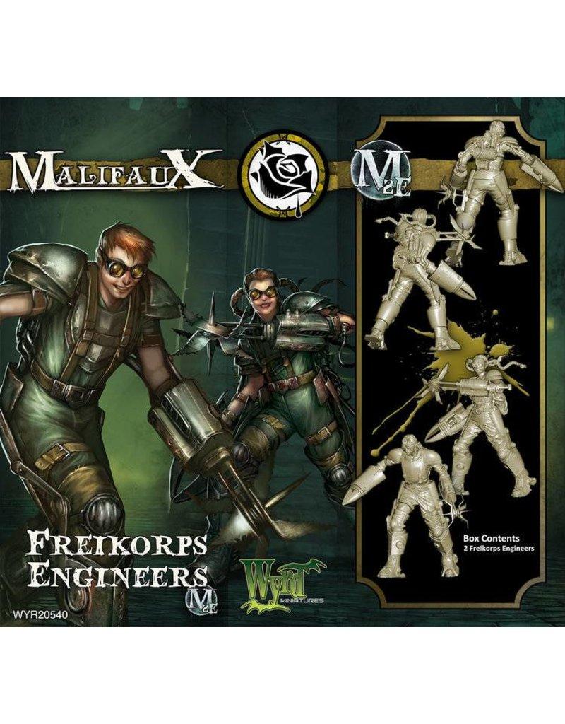 Wyrd Outcasts Freikorps Engineer