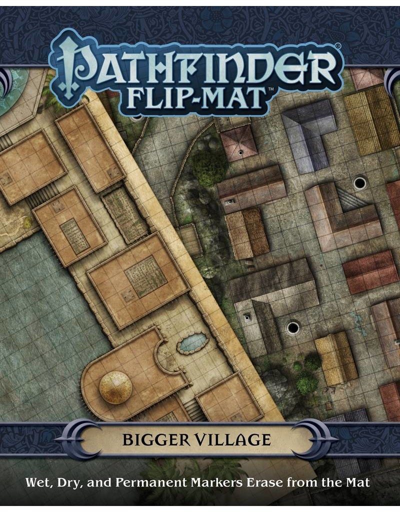 Paizo Pathfinder Flip-Mat: Bigger Village