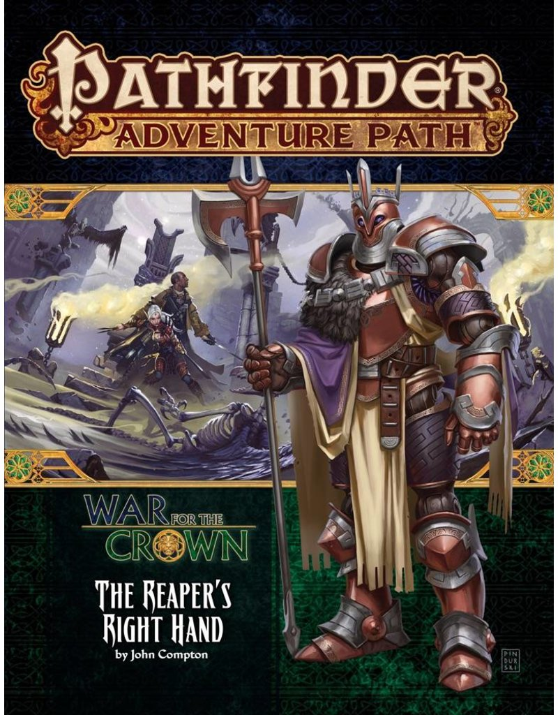 Paizo Pathfinder Adventure Path: The Reaper's Right Hand (War for the Crown 5 of 6)