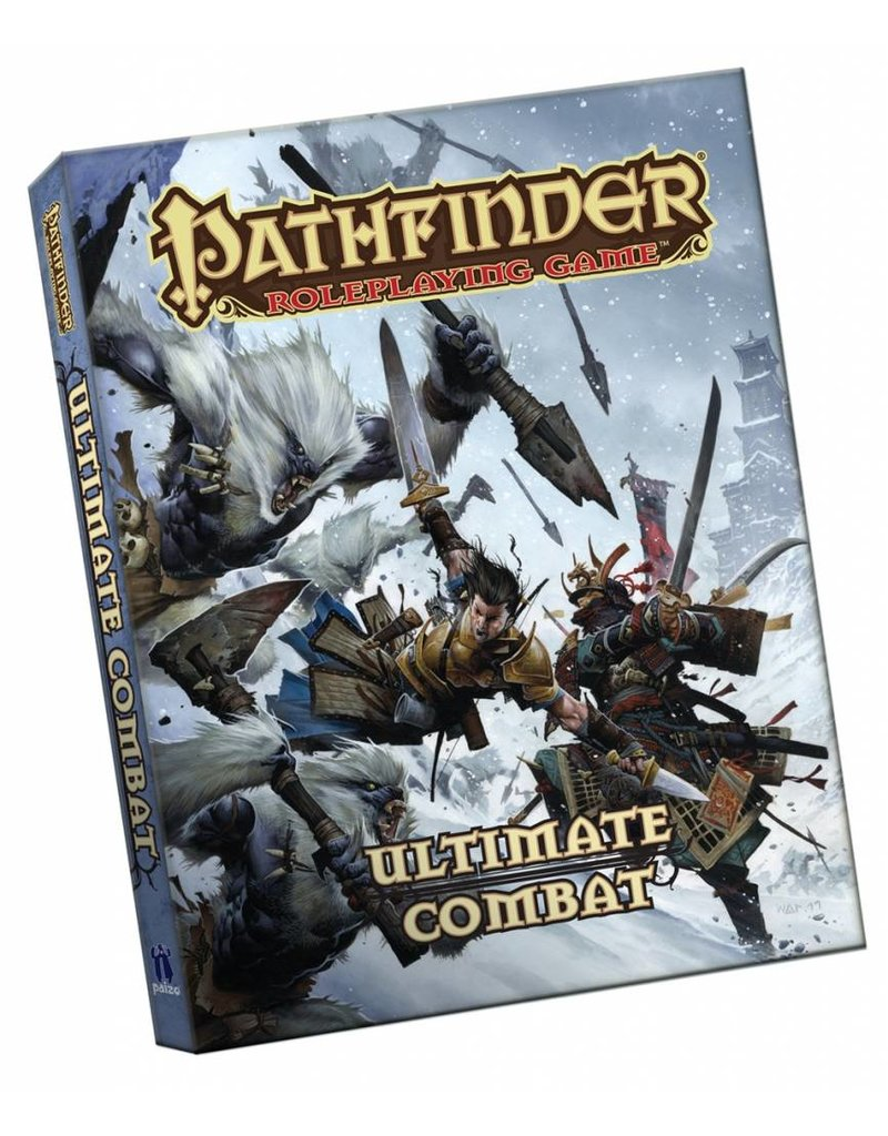 Paizo Pathfinder Roleplaying Game: Ultimate Combat Pocket Edition