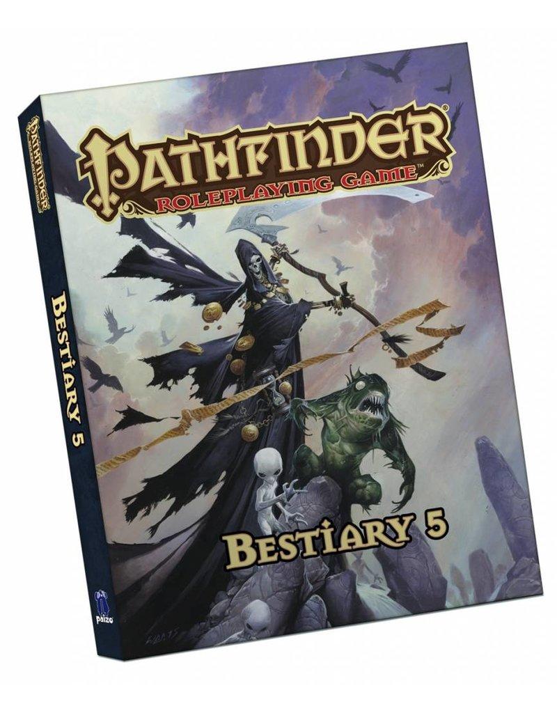 Paizo Pathfinder Roleplaying Game: Bestiary 5 Pocket Edition