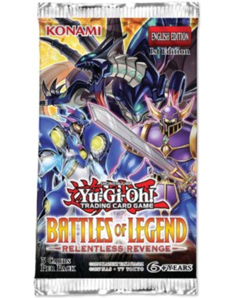 Konami Yugioh! TCG Battles of Legend: Relentless Revenge Booster