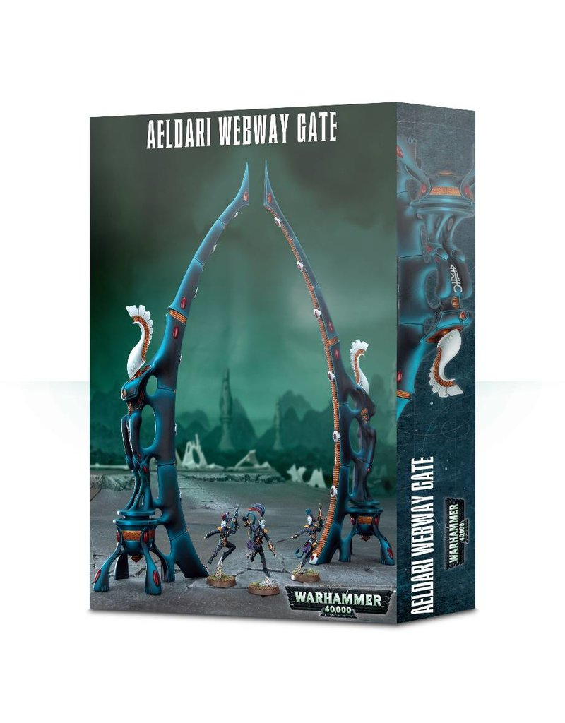 Games Workshop Aeldari Webway Gate Scenery Set