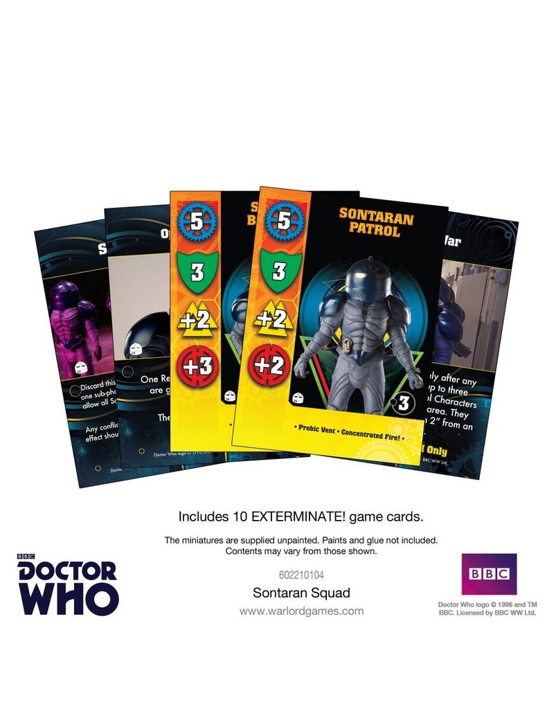 Warlord Games Doctor Who: Sontaran Squad