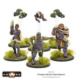Warlord Games Privateer Admiral Taras Kalemon