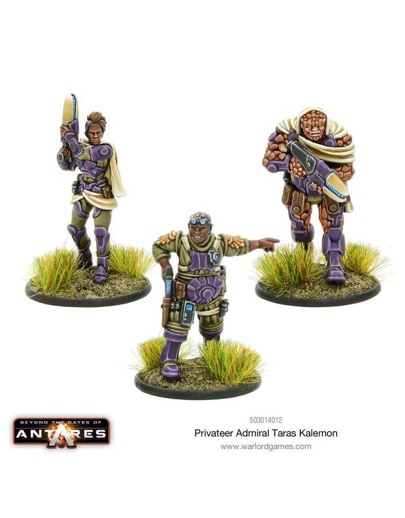 Warlord Games Freeborn Privateer Admiral Taras Kalemon