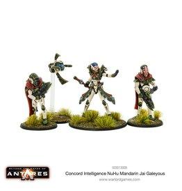 Warlord Games Intelligence NuHu Mandarin Jai Galeyous