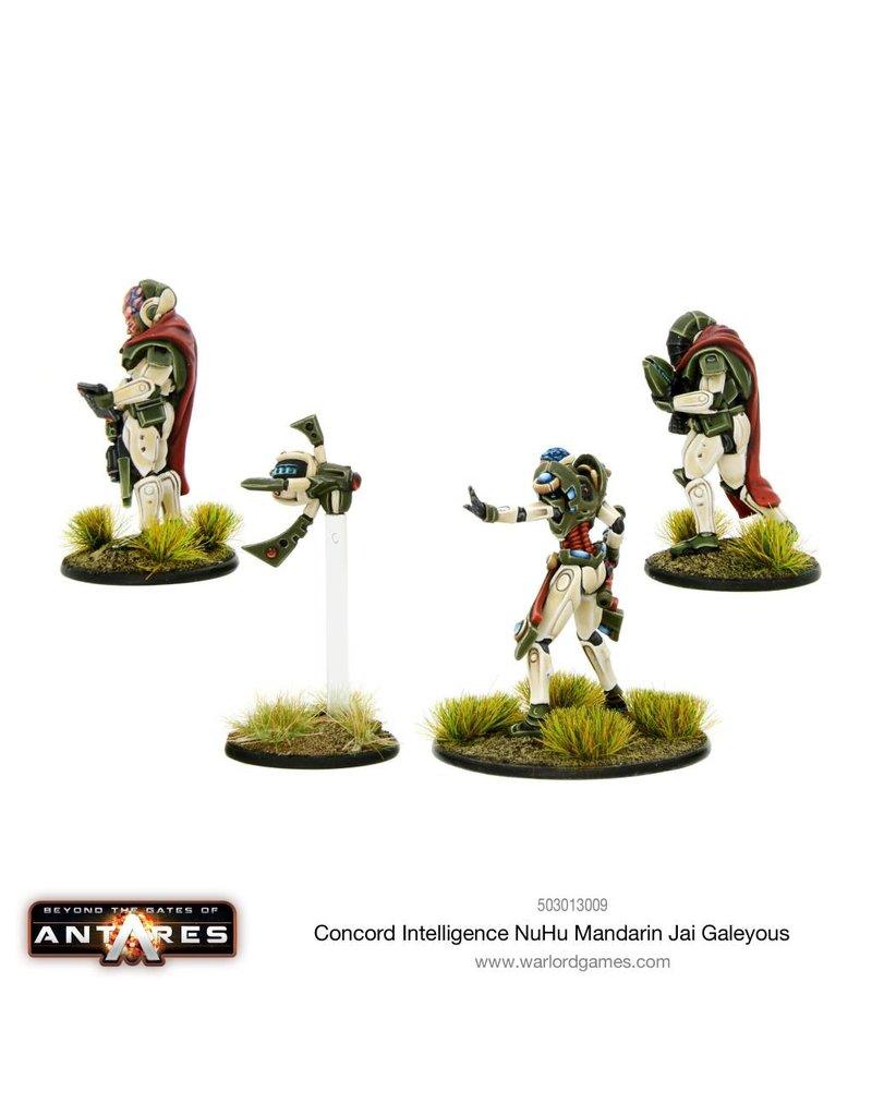 Warlord Games Concord Intelligence NuHu Mandarin Jai Galeyous